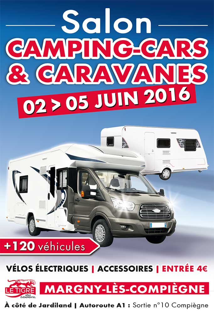 salon camping cars et caravanes de margny l s compi gne. Black Bedroom Furniture Sets. Home Design Ideas
