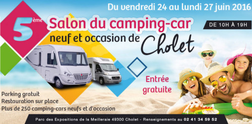 5 me salon du camping car de cholet. Black Bedroom Furniture Sets. Home Design Ideas