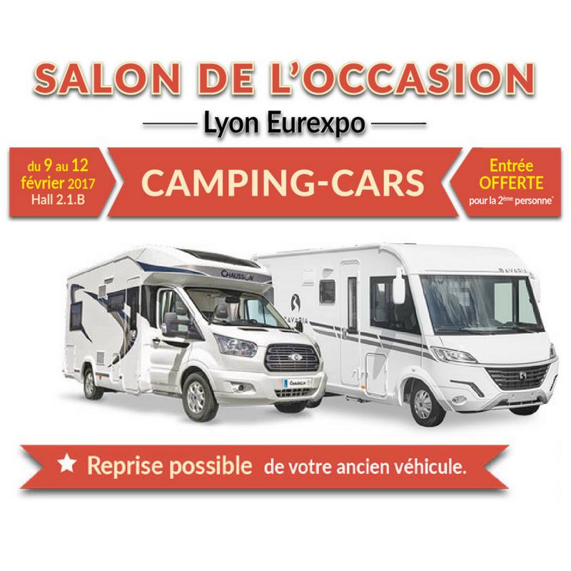 Salon du camping car d 39 occasion lyon eurexpo - Salon camping car bruxelles ...