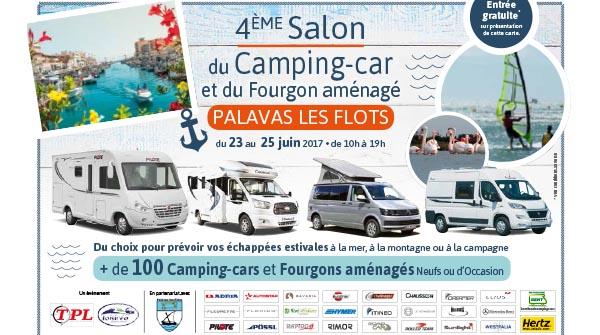 Salon du camping car et du fourgon am nag de palavas les for Salon du camping car angers