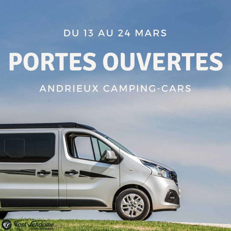 Nos fourgons am nag s aux portes ouvertes d 39 andrieux camping cars - Porte ouverte camping car ...