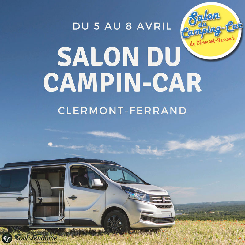 Nos fourgons am nag s au 5 me salon du camping car de clermont - Salon du camping car clermont ferrand ...