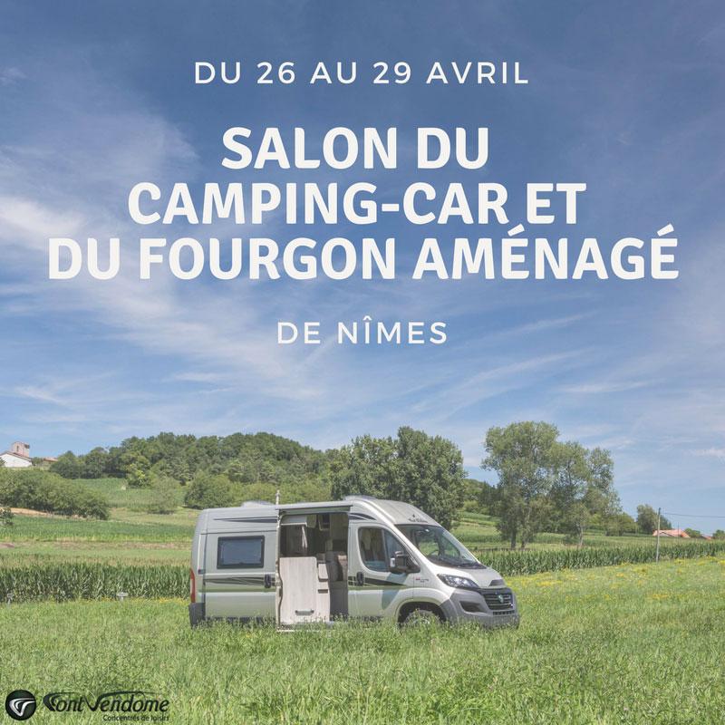 Nos fourgons am nag s au salon du camping car n mes for Salon camping car