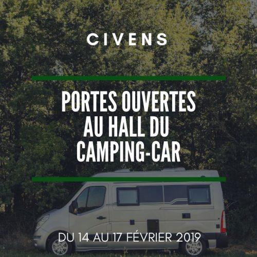 Nos fourgons am nag s aux portes ouvertes de la hall du camping car - Porte ouverte camping car ...