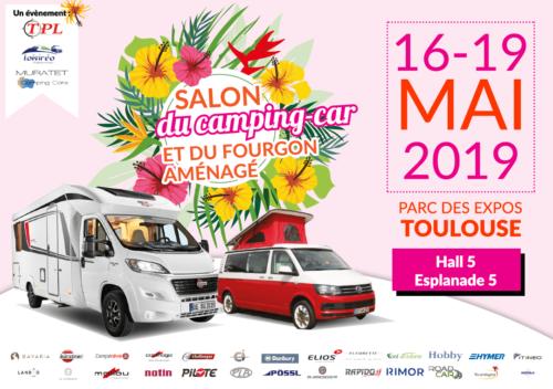 Salon du camping-car et du fourgon aménagé de Toulouse