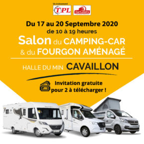 Salon du camping-car et du fourgon aménagé de Cavaillon 2020